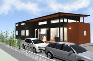 間取りデザイン04|自然豊かな敷地に建てる広がる空間