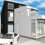 変形袋小路に建てる自分らしい家