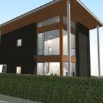 豊かな自然が空間をつなげる家