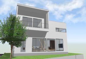 間取りデザイン05|明るい家族が過ごす明るく気持ちの良い家