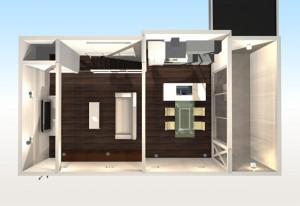 間取りデザイン08 狭小敷地に建てるやさしい自然光を感じる家