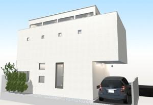間取りデザイン11|狭小敷地に建てるやさしい自然光を感じる家